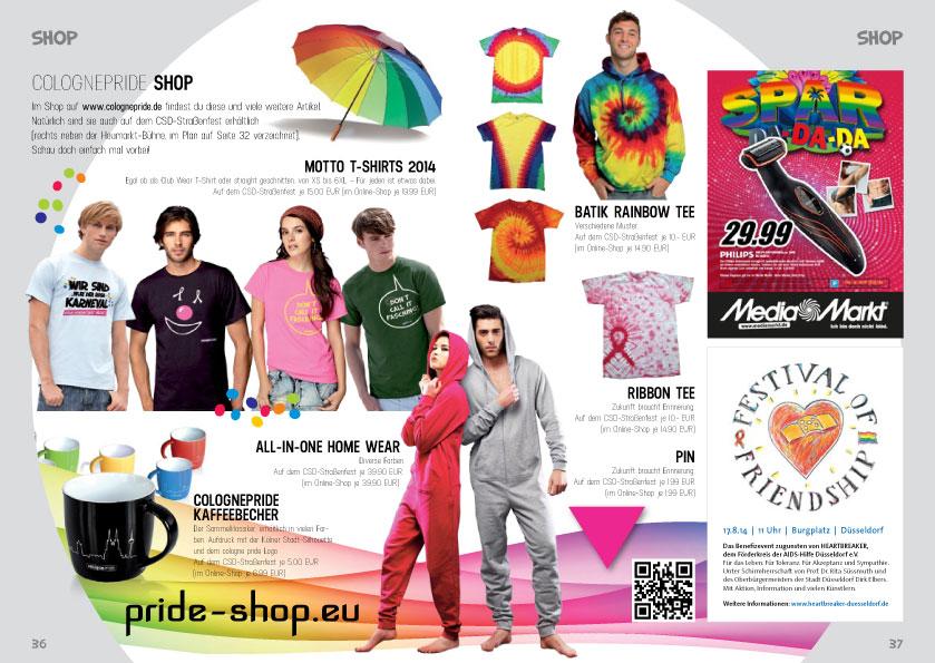 ColognePride Programmheft 2014