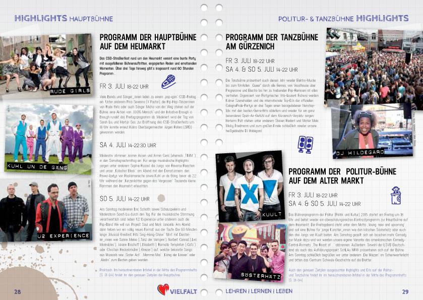 ColognePride Programmheft 2015