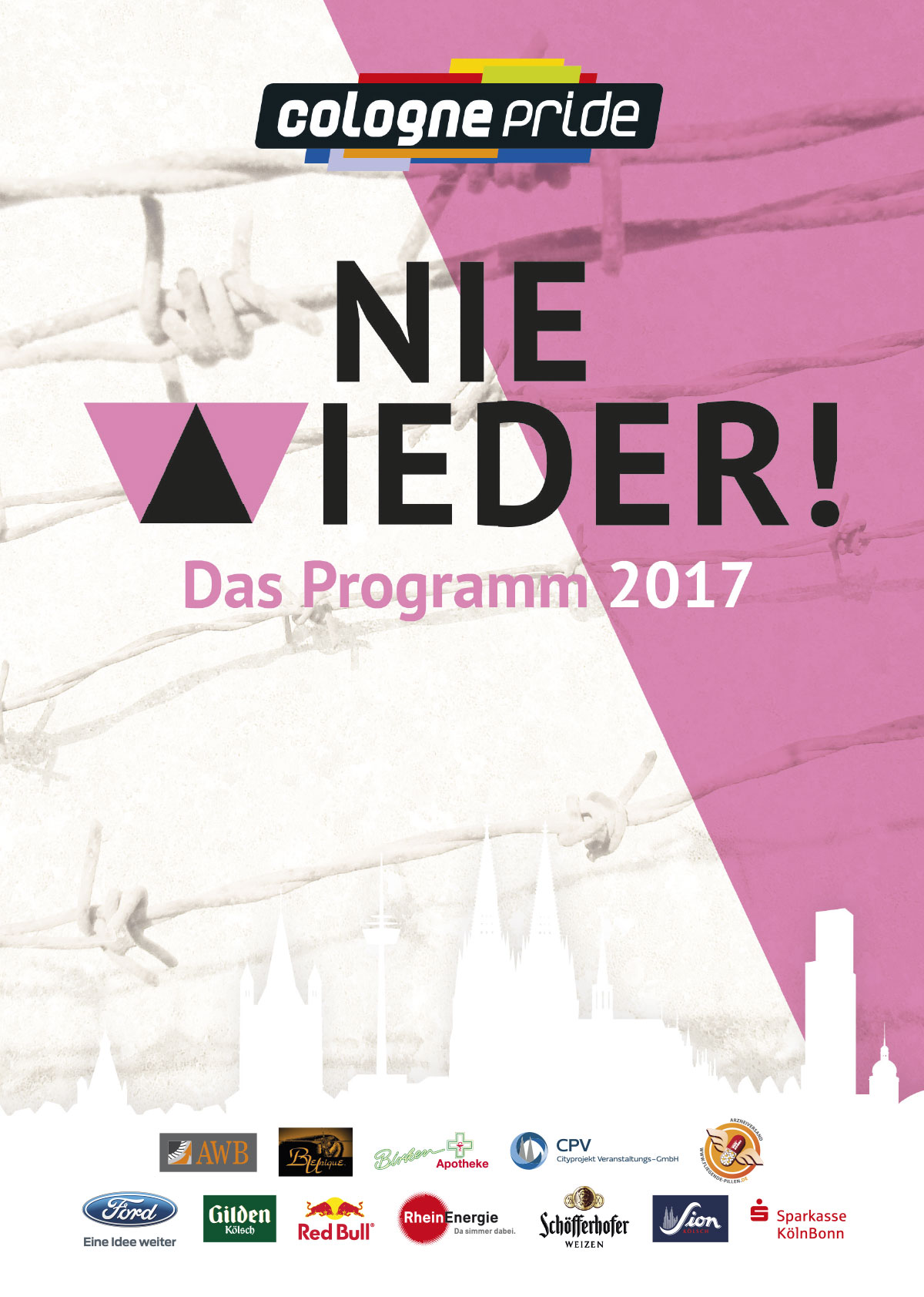 Editorial Design: ColognePride Programmheft
