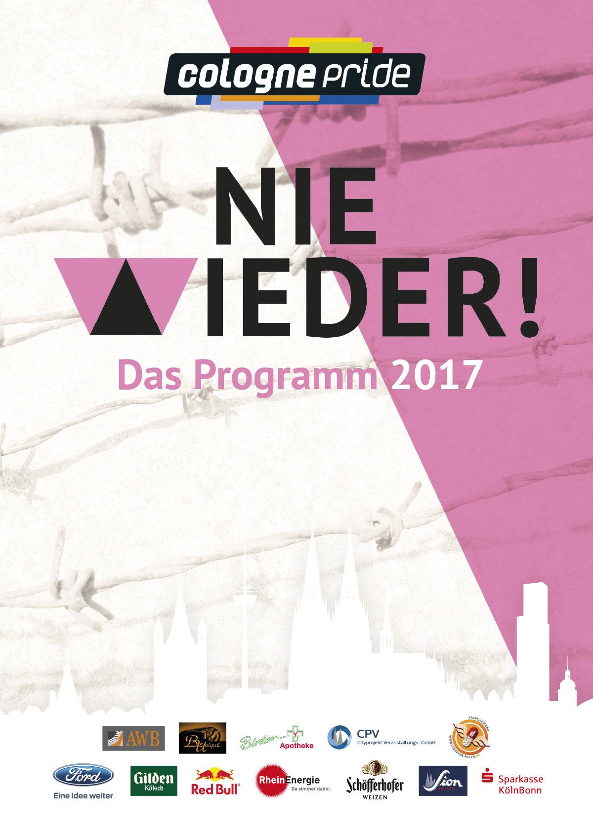 ColognePride Programmheft 2017 Cover