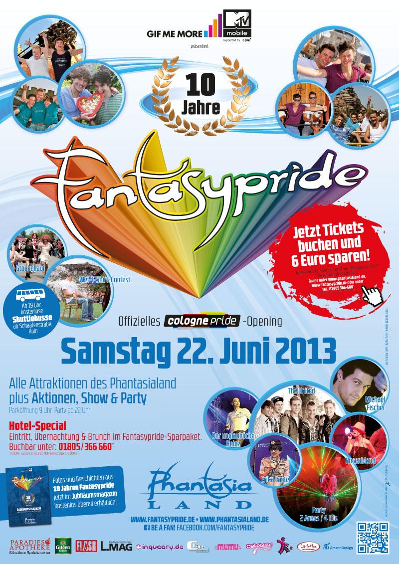 Fantasypride 2013 Plakat A2