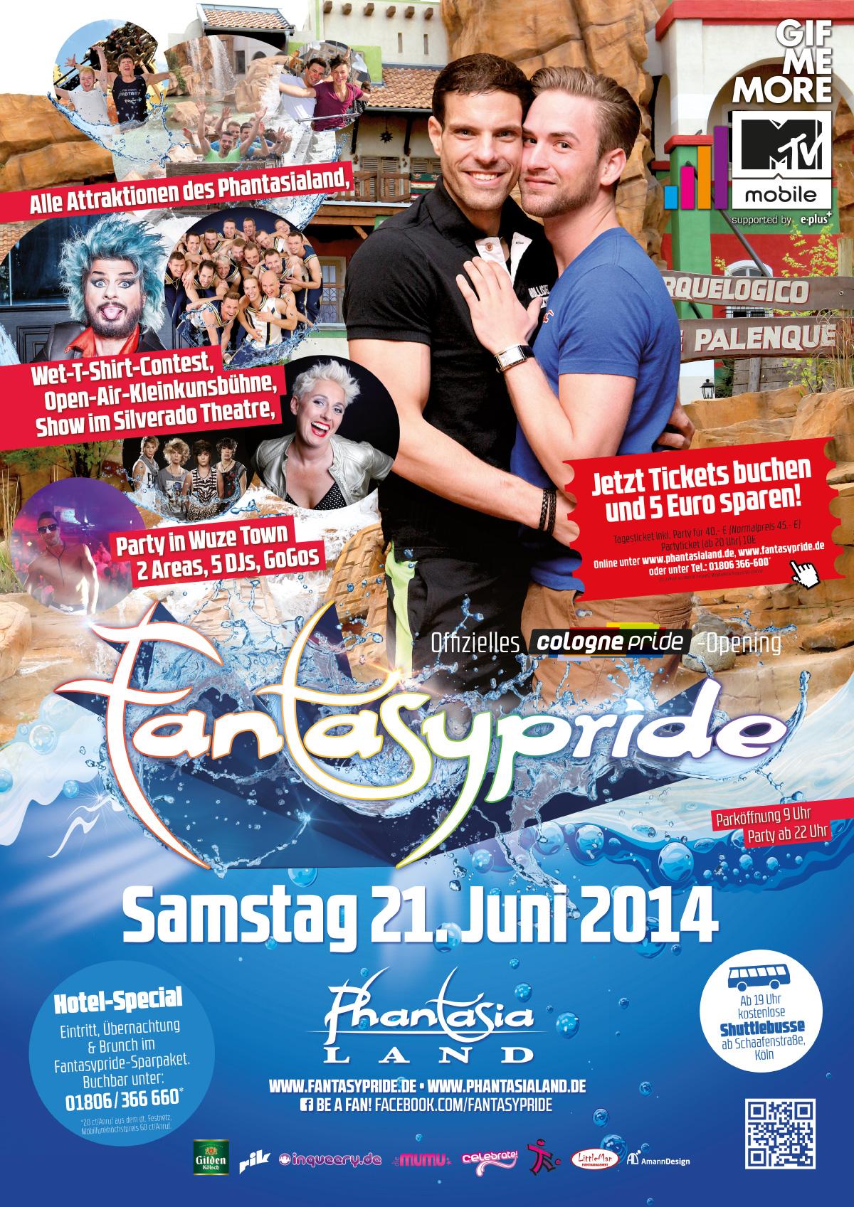 Fantasypride 2014 Plakat A2