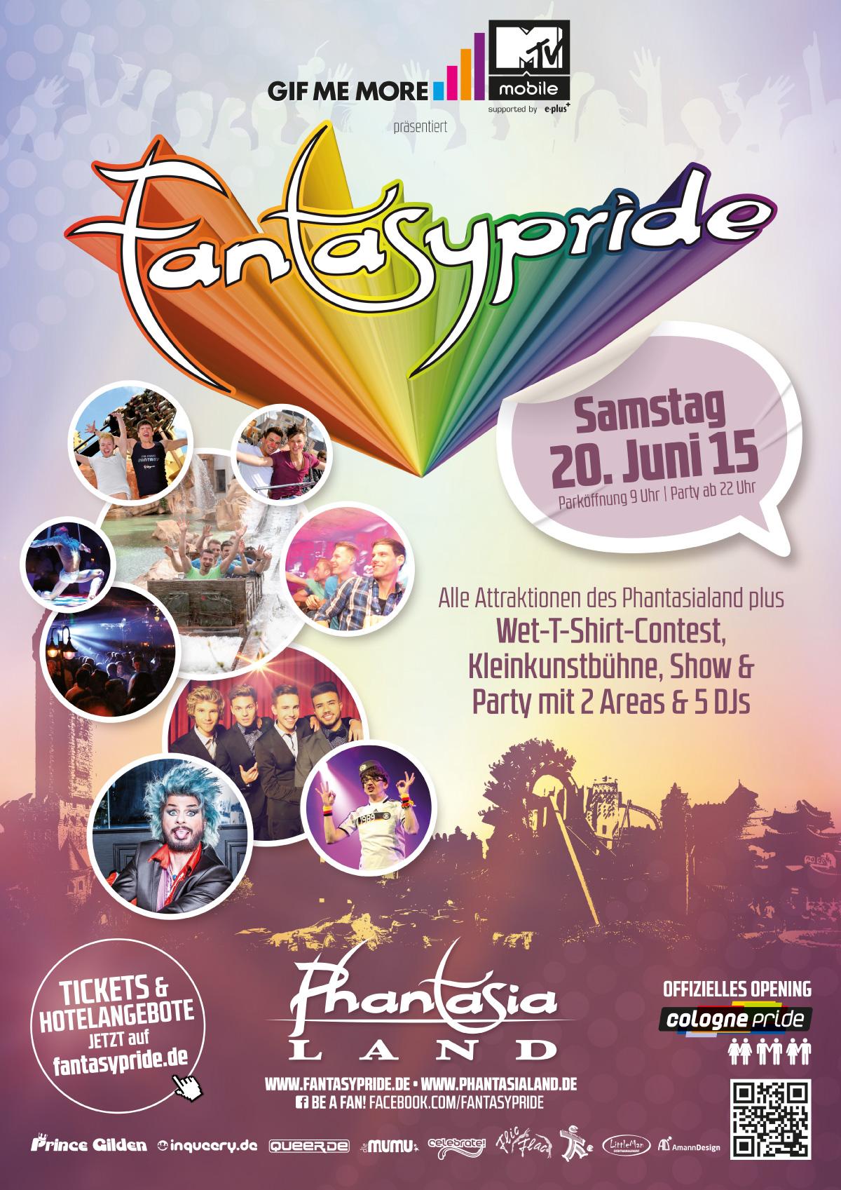 Fantasypride 2015 Plakat