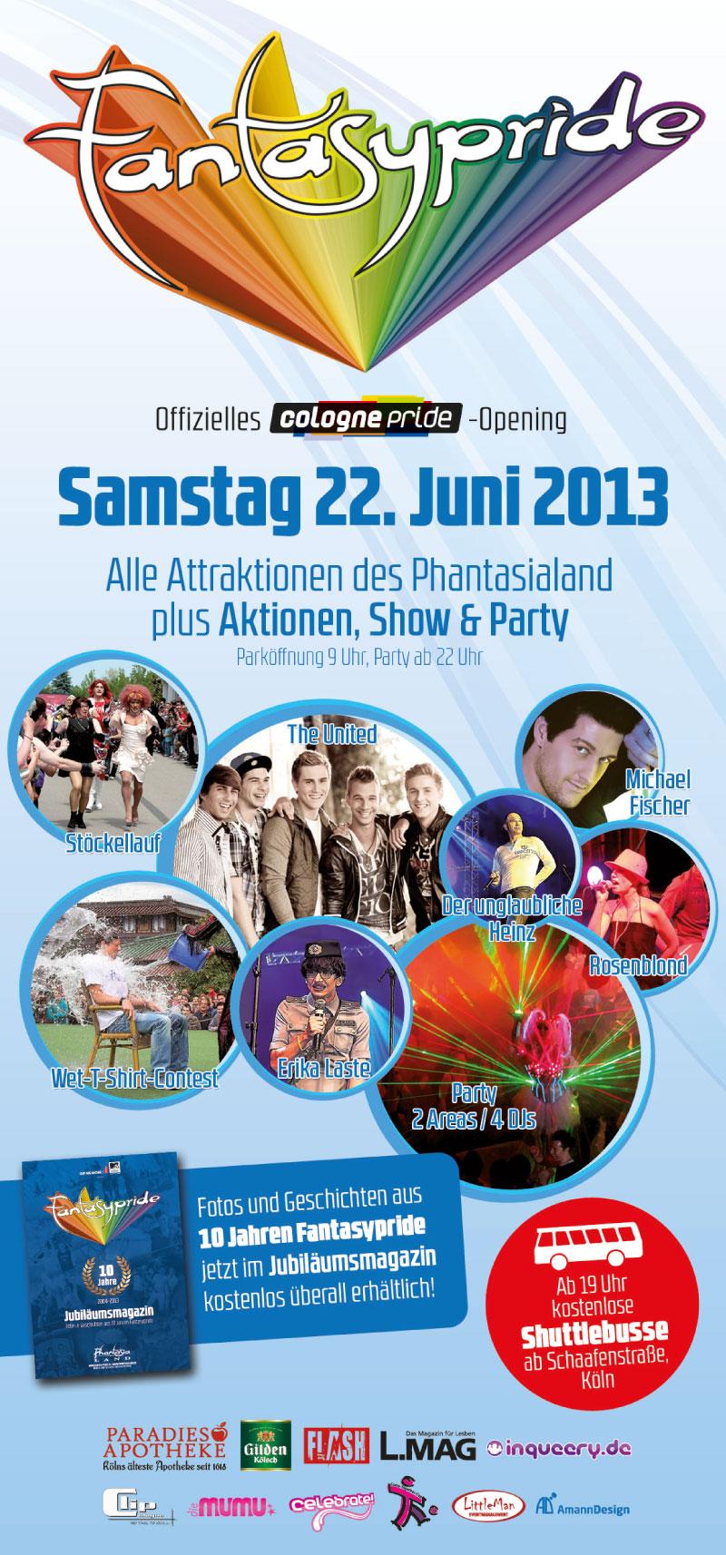 Fantasypride 2013 Flyer DIN Lang hinten