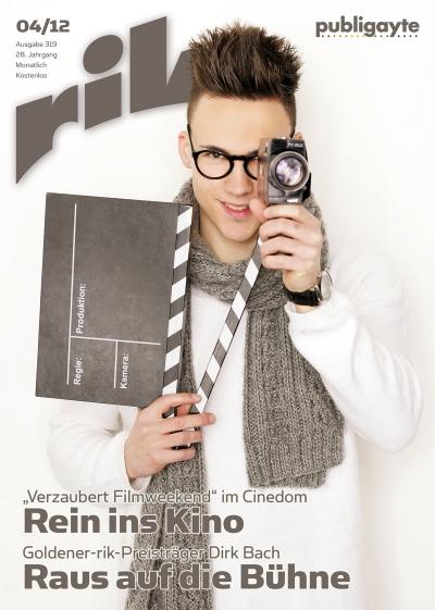 Editorial Design: Cover rik 04.12 / Foto: Fotolia