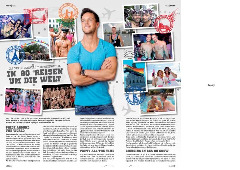 Editorial Design: rik 03.12 / Reise-Special / Fotos: Fotolia / PR