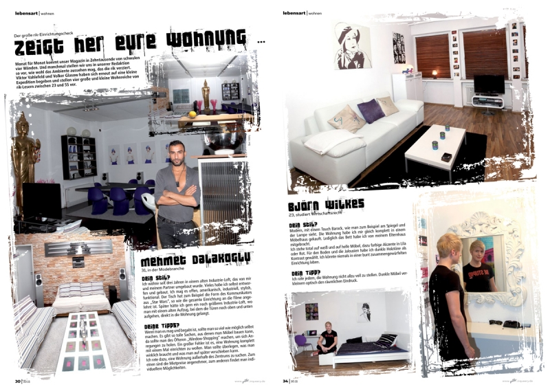 Editorial Design: rik 10.11 / Wohnen-Special / Fotos: vvg