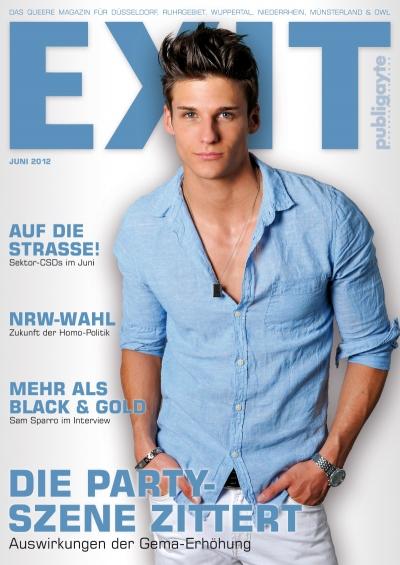 Cover EXIT 06.12 / Foto: TeeJott