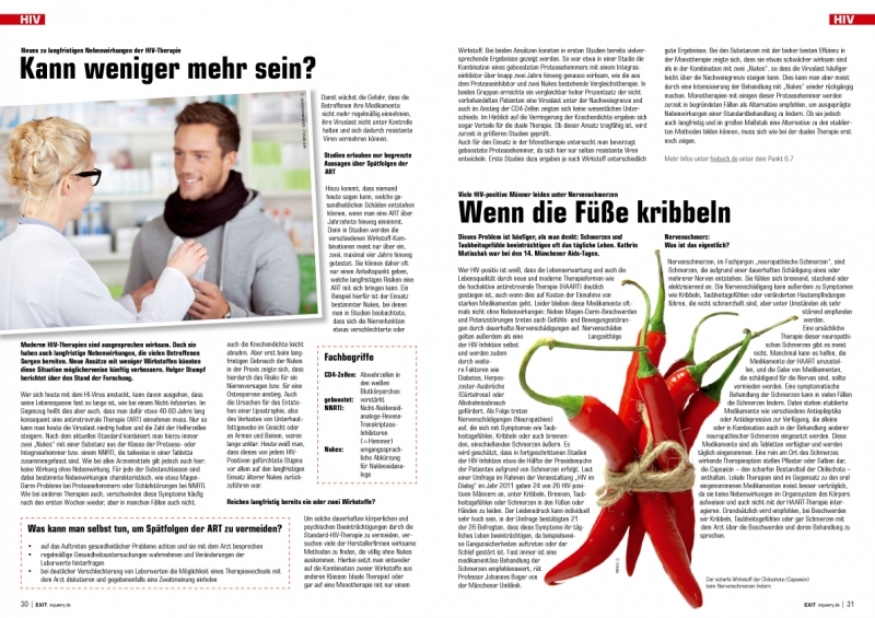 EXIT 07.12 / HIV / Fotos: PR / Fotolia