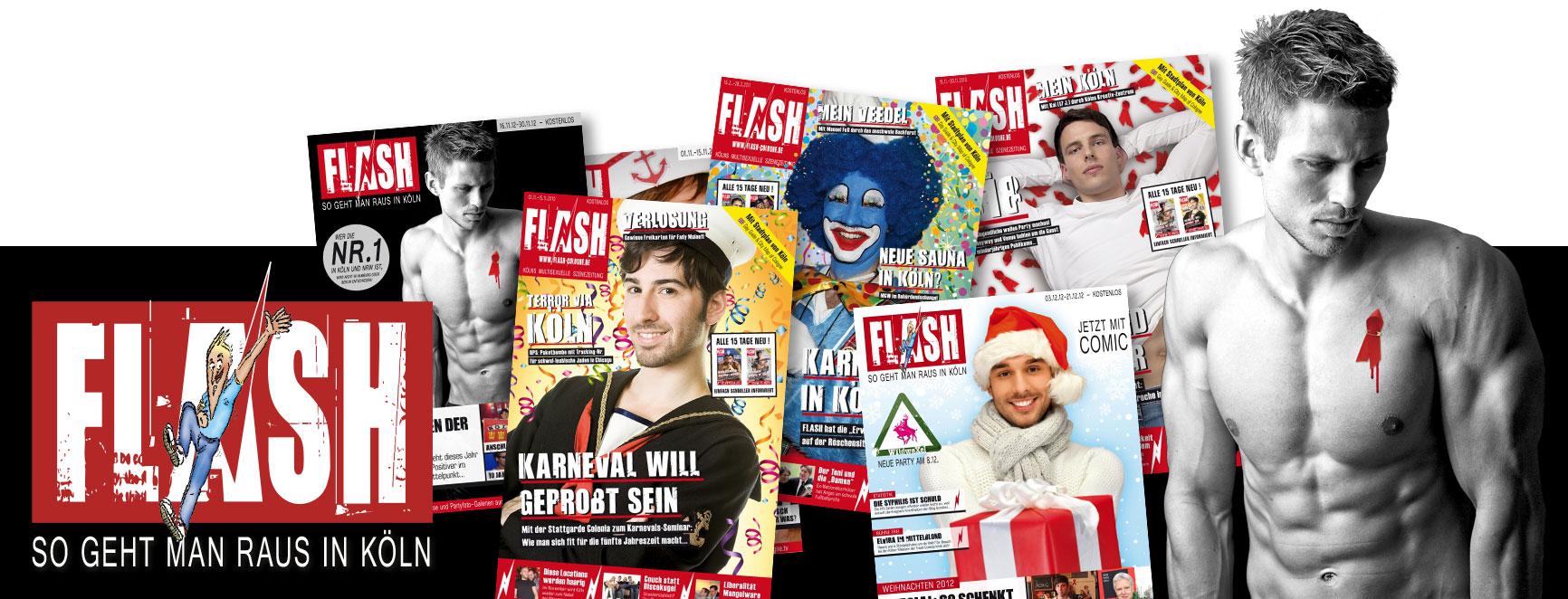 """Editorial Design: Gestaltung des Magazins """"FLASH"""""""