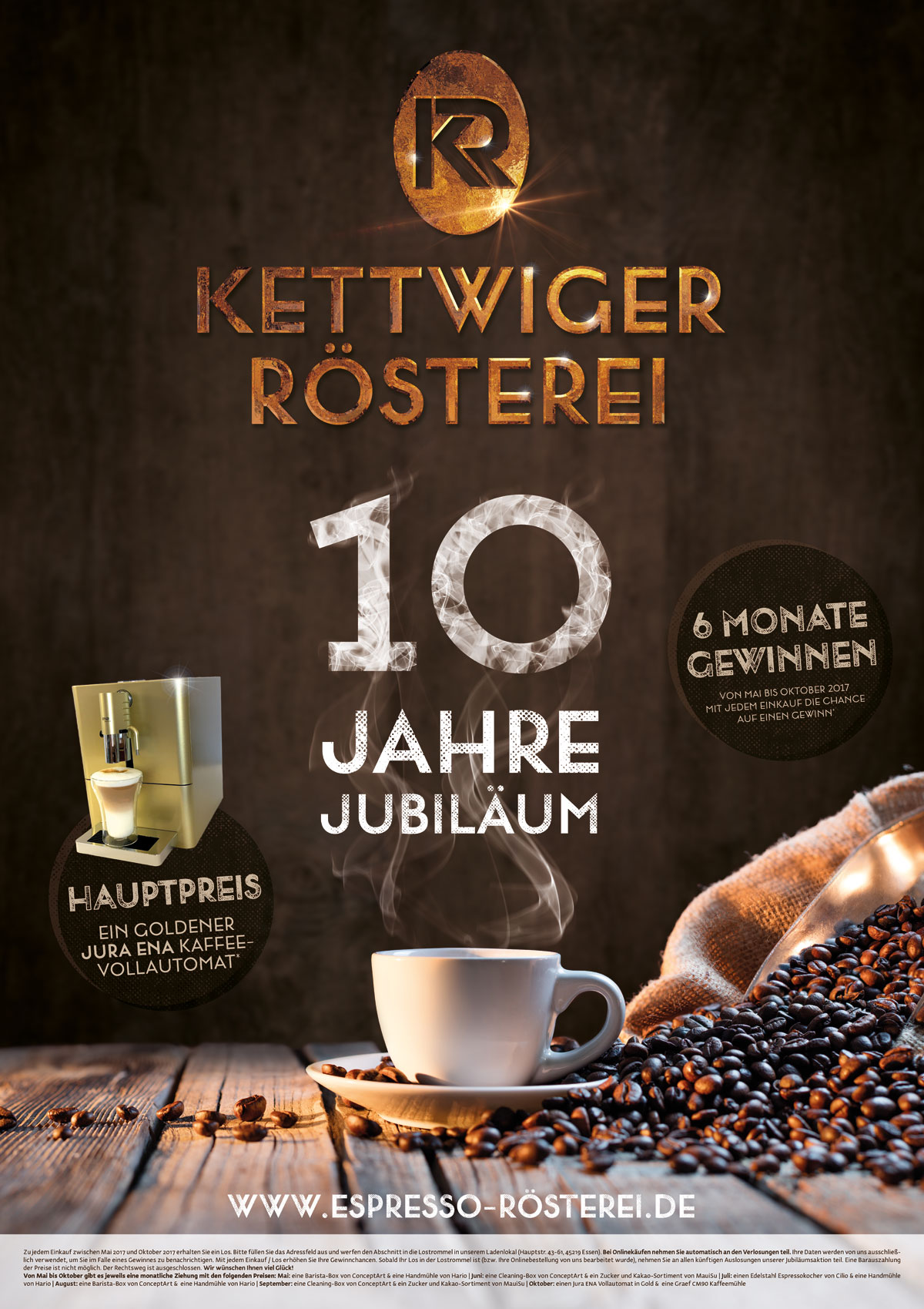Corporate Design: Kettwiger Rösterei