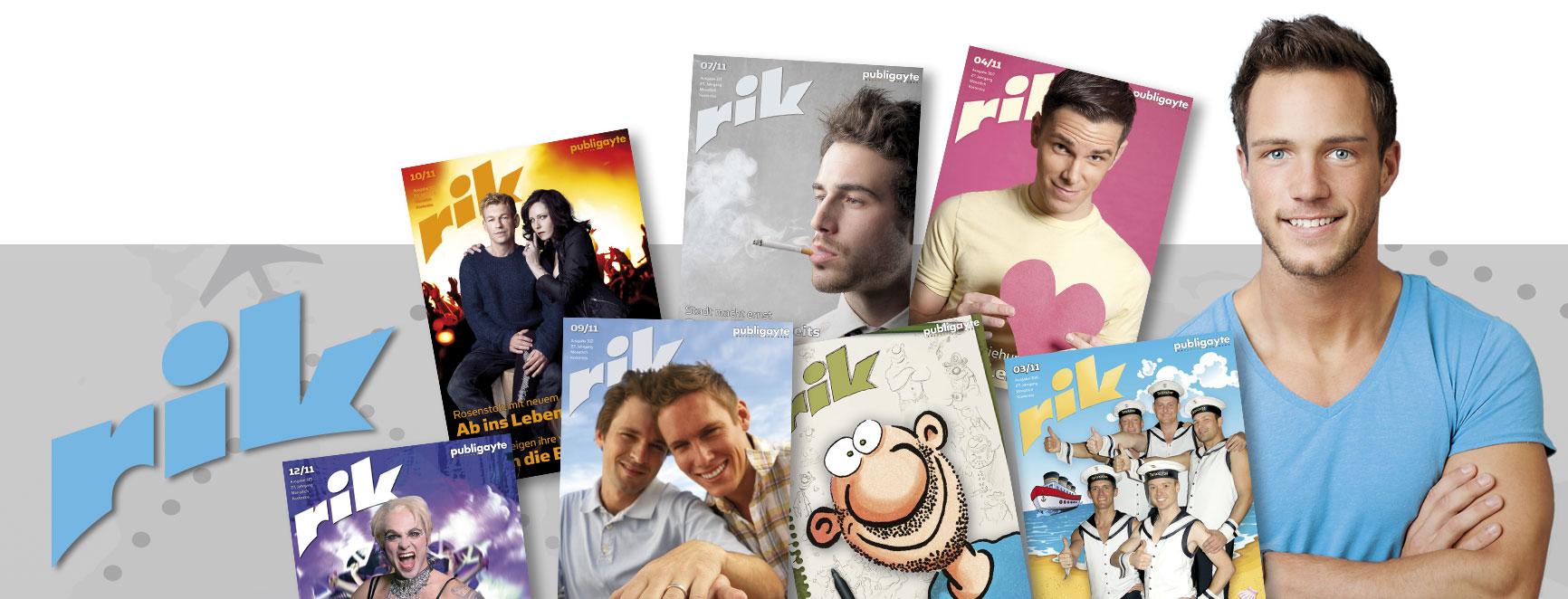 "Editorial Design: Gestaltung des Szenenmagazins ""rik"""