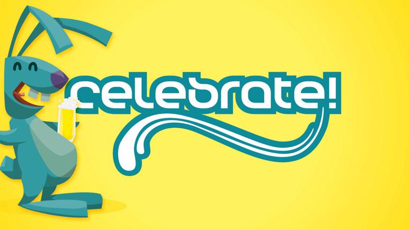 "celebrate! ""Ralliger Rammler"" Ostern 2017 Animation"