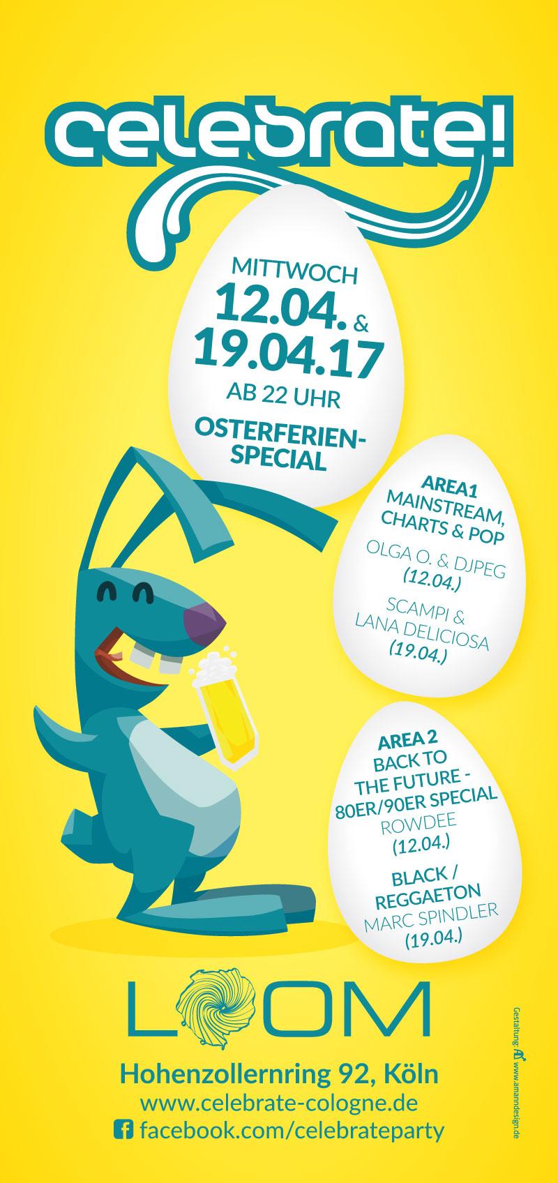"celebrate! ""Ralliger Rammler"" Ostern 2017"