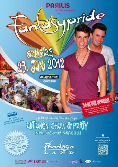 Plakat Fantasypride 2012