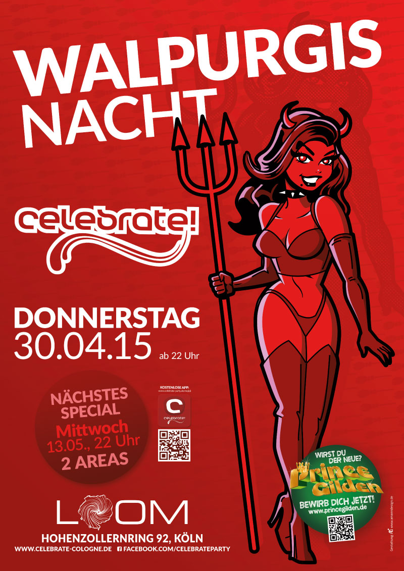 celebrate! Walpurgisnacht 2015