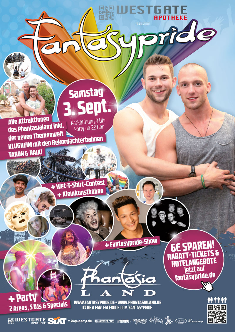 Fantasypride 2016 Plakat A2