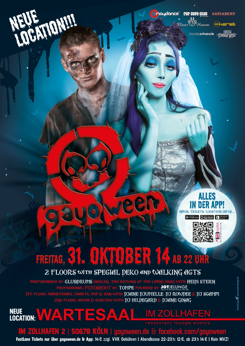 GAYOWEEN 2014 Plakat