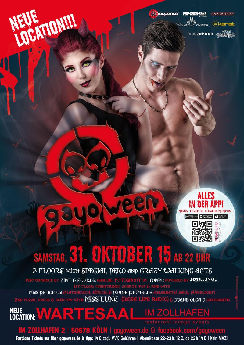 GAYOWEEN 2015 Plakat