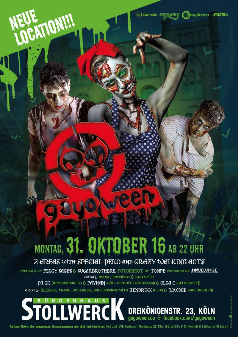 GAYOWEEN 2016 Plakat
