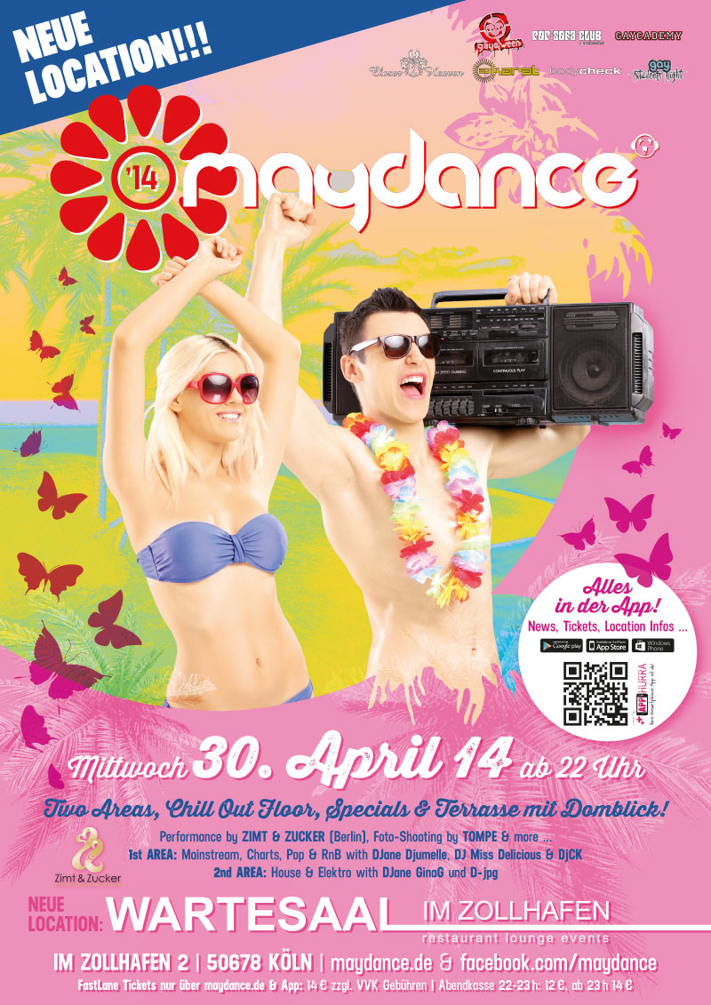 MAYDANCE 2014 Plakat A2