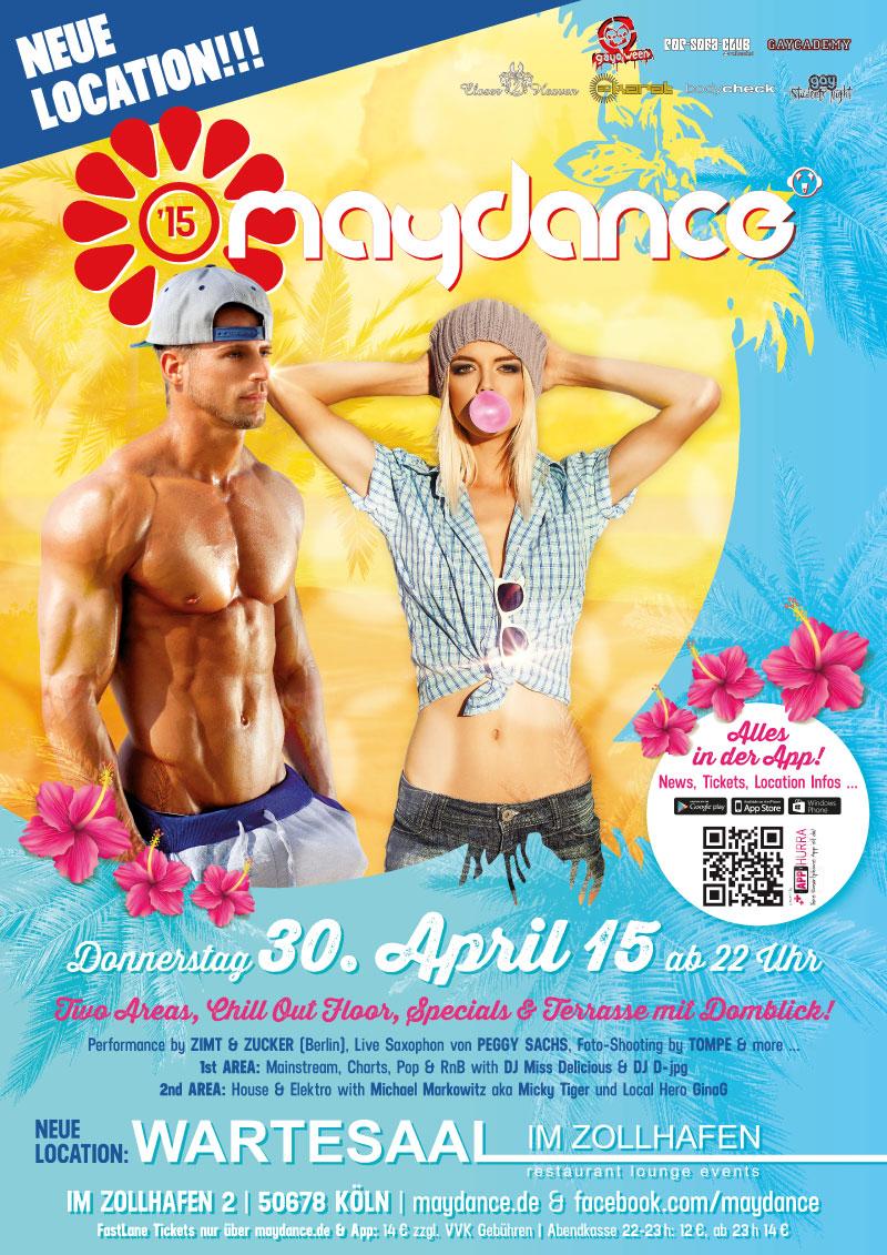 MAYDANCE 2015 Plakat A2