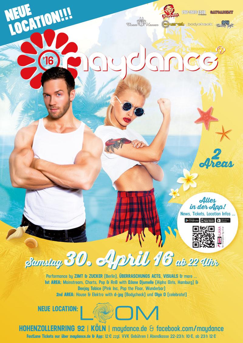 MAYDANCE 2016 Plakat A2