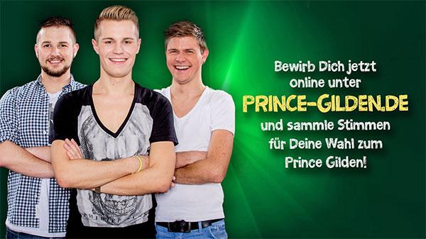 """Prince Gilden 2015 """"Bewirb Dich jetzt!"""" (1)"""