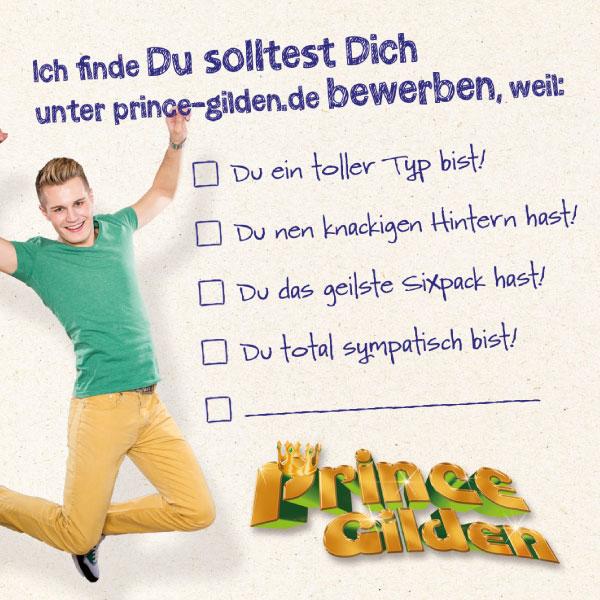 Prince Gilden 2015 Bierdeckel hinten
