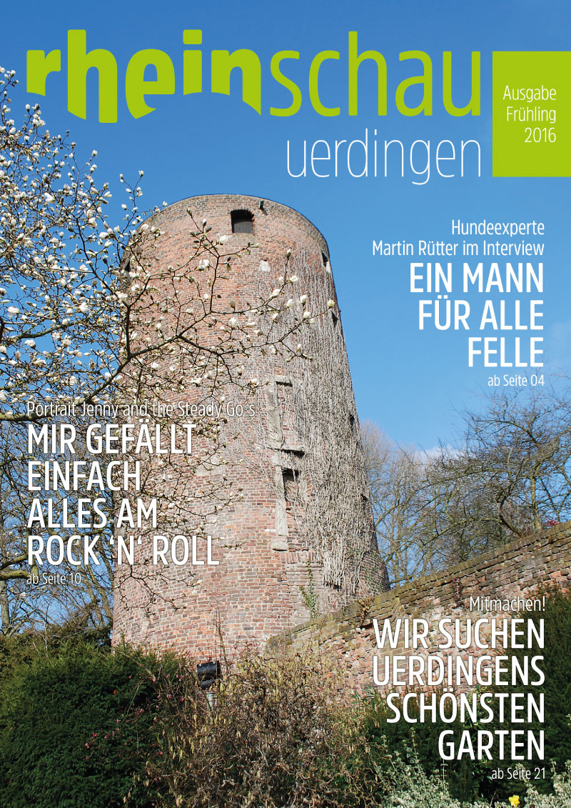 rheinschau Cover Ausgabe Frühling 2016