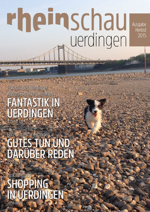 rheinschau Cover Ausgabe Herbst 2015
