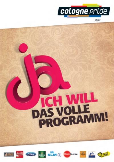 ColognePride Programmheft 2012