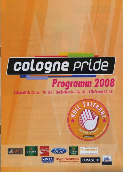 ColognePride Programmheft 2008