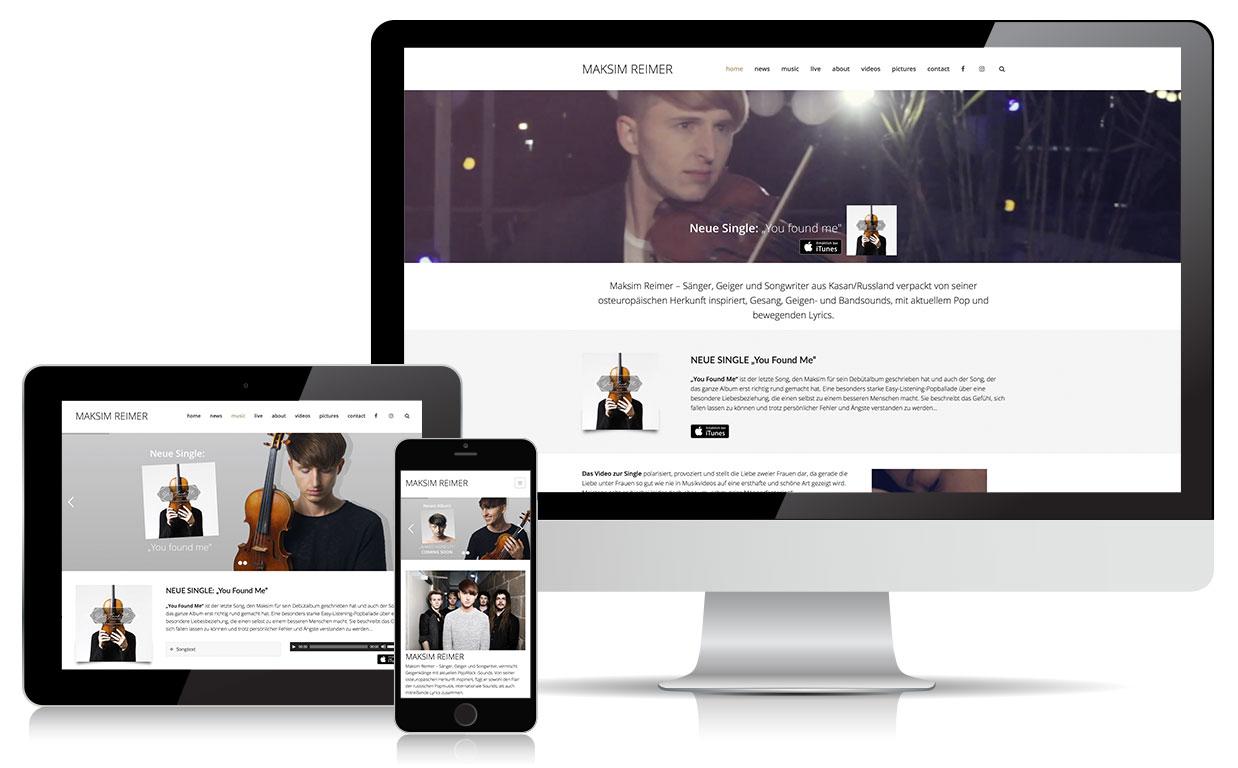 Webdesign maksimreimer.de