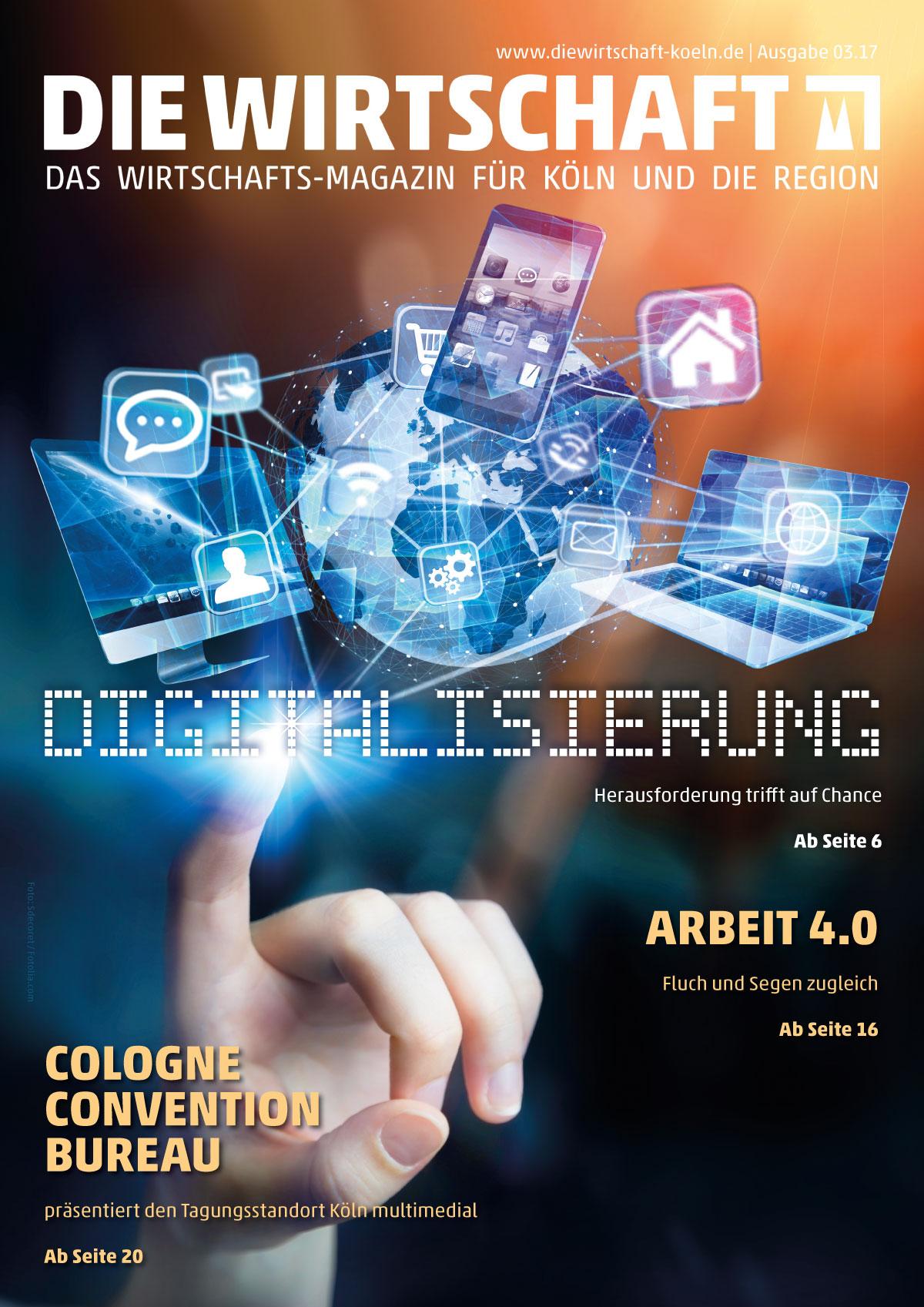 """Editorial Design: Magazin """"Die Wirtschaft"""""""