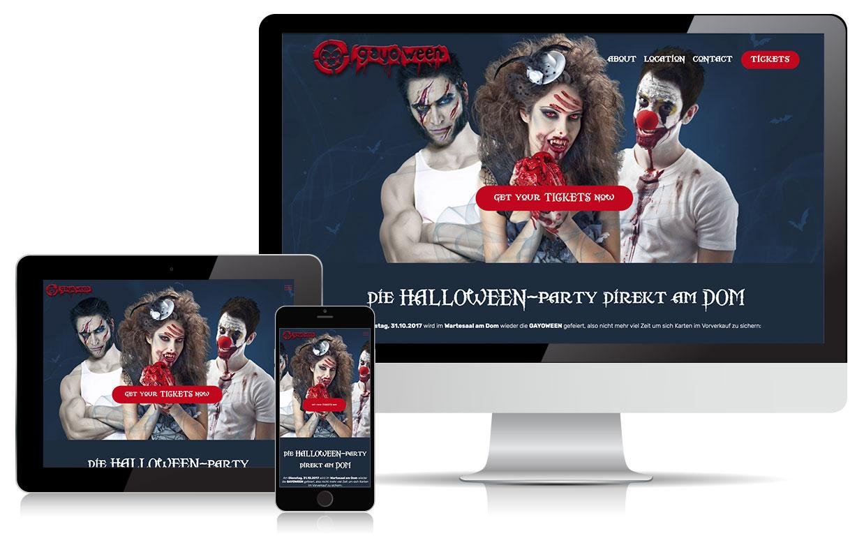 GAYOWEEN Homepage 2017