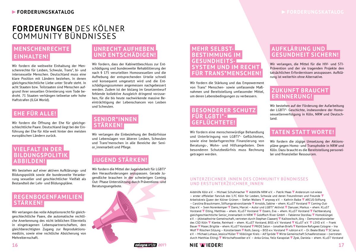 Seite 16-17 ColognePride Programmheft 2017