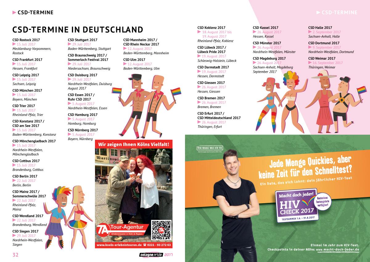 Seite 32-33 ColognePride Programmheft 2017