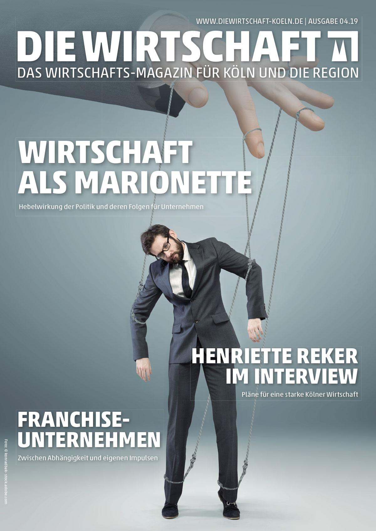 Die Wirtschaft 04.19 Cover